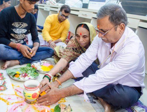Ganesh & Luxmi Puja for New Office Inauguration